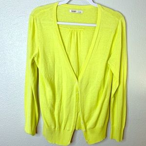 Old Navy neon cardigan sweater